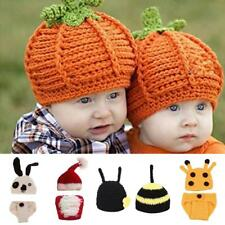 Cute Animal Infant Baby Handmade Crochet Beanie Hat Clothes Baby Photograph Prop