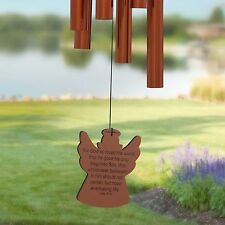 Chimes of Your Life - John 3:16 - Angel - Memorial Wind Chime