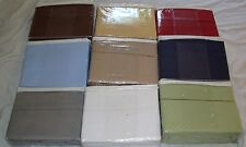 King Size Deluxe Hotel 300 Thread Count 100% Cotton Sateen Sheet Set