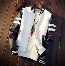 Mens University College Cool Sport Boys jacket Baseball Varsity Muti colors Coat