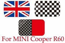 Checkered Union Jack Sun Roof Decal Stickers Graphic For MINI Cooper R60 BS1