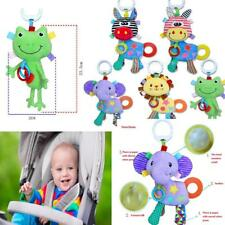 Baby Kid Plush Animal Rattles Car Stroller Music Hanging Bell Toys Soft Doll Bed