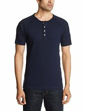 Levi's Navy Solid Henley T-Shirt