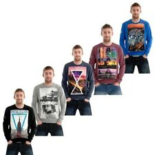 Mens new Branded Designer Jumper Sweatshirt Big Cities Top Tokyo London NYC LA