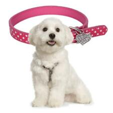Pet Dog Collar Training Puppy with Metal Buckle Safety Reflective PU Collar