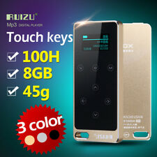Ruizu X05 Lossless Hifi Touch Screen Mini MP3 Music MP3 Player 8GB With Flac LCD