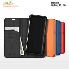 Lab.C Korea Leather Cover Phone Case for Samsung Galaxy S8 S8Plus 2in1 Kickstand