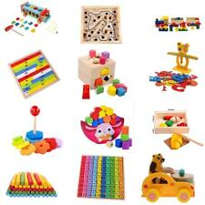Wooden Mathematics Puzzle Block Toys Kids Educational Number Math Calculate Toys
