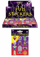 Halloween Party Themed Sticker Sheets Loot Bag Fillers Favours Prizes