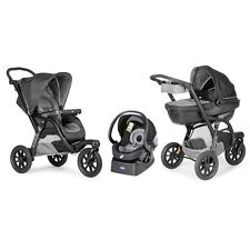 CHICCO Stroller Trio Activ3 kit + KeyFit Infant Car Seats + Carrycot