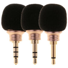Travel Handheld Portable 3.5mm Jack Mini Microphone for Phone Laptop PC New