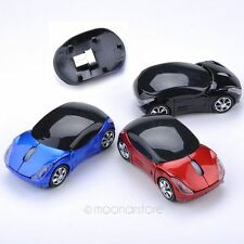 Mouse Car Optical 2.4ghz Usb Wireless Mice Laptop  Shape Cordless Receiver Game