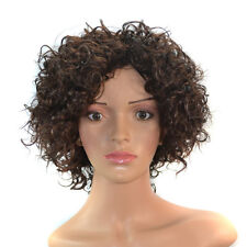 Full Afro Curly Short Cut Curly 14'' Wig for Black Women Costume Dress Party Wig