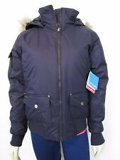 Womens Columbia S-M-L-XL Barlow Pass 550-Down Bomber Insulated Hooded Jacket