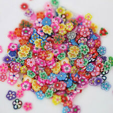 1000X Nail Art Fruit Flower Polymer Clay Slices DIY Decoration Sticker Surprise