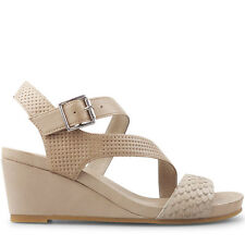 Wittner Ladies Shoes Beige Leather Sandals