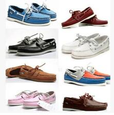 Casual Men Top-Side Lace Up Moccasin Leather Loafer Docksides deck Boat shoes