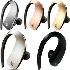 Wireless Bluetooth Stereo Headset Isolation Canceling Handsfree With Mic Earbud