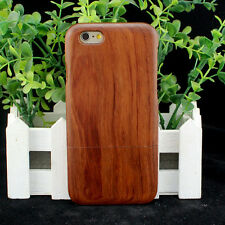 New Natural Real Rosewood Wooden Hard Case Cover for iPhone SE 6 6S 7 or Plus