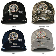 Dream Catcher 3D Embroidered Native Pride Structured Baseball Cap