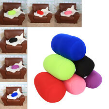 Soft Microbead Back Cushion Home Sleep Roll Throw Pillow Traveling Neck Support