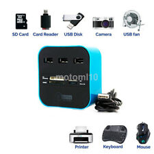 1X USB 2.0 Hub 3 Ports Card Reader Combo for MS/MS PRO DUO/SD/MMC/M2/Micro SD