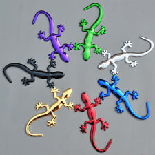 Gecko 3D Metal Car Auto Motorcycle Logo Emblem Badge Car Styling Stickers Decals