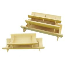 Bamboo Half-Pipe Dishes / Plates