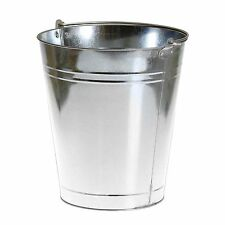 Pinnacle METAL BUCKET Handy For Every Day Jobs*Australian Brand - 10L Or 15L