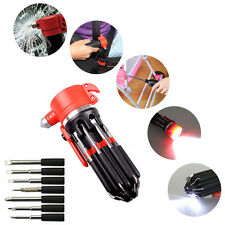 Portable 8 in 1 Multi Screwdriver 2 / 6 LED Torch Tools Light Up Flashlight Set