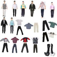 Fashion T shirt +Pants Clothes Outfit Shoes for  Boyfriend Ken Doll Accs