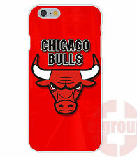 Chicago Bulls Soft TPU Silicon Case For Apple iPhone HD Print