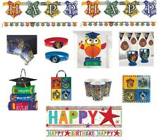 Harry Potter Wizard Birthday Decorations Party Supplies Napkins Plates Cups Loot