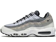 Authentic Nike Air Max 95  ® ( Men Sizes UK 9 EUR 44 ) White Wolf Grey Black NEW