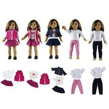 Stylish Clothes Dress Skirt Coat for 18 Inch American Girl My Generation Dolls