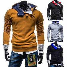 NEW Men's Casual Fashion Slim Fit Sexy Top Designed Hoodies Jackets Coats Tops 9