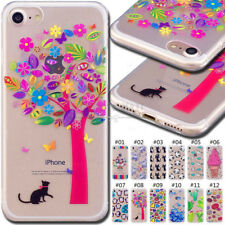 For Apple iPhone 7 Silicone TPU Case Rubber Soft Skin Back Protective Gel Cover