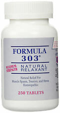 Formula 303 - Natural relief for muscle spasm, stress, and tension