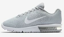 Nike AIR MAX SEQUENT-2 WOMEN'S RUNNING SHOE Platinum/Wolf Grey-US 5,5.5,6 Or 6.5