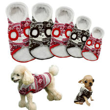 Winter Warm Dog Coat Jacket Pet Puppy Clothes Hoodie Apparel for Dog S M 5 Sizes