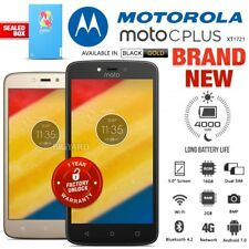 New Factory Unlocked MOTOROLA Moto C Plus Black Gold Dual SIM Android Smartphone