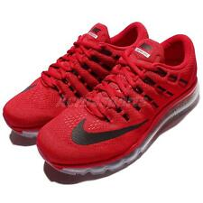 Nike Air Max 2016 Red Black Mens Running Shoes Sneakers Trainers 360 806771-601