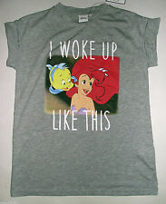 LADIES PRIMARK DISNEY PRINCESS ARIEL THE LITTLE MERMAID T SHIRT TEE TOP UK 8-10