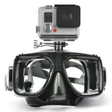 Mask Face Diving Gopro Snorkel Swimming Scuba Anti Fog Action Camera Accessories