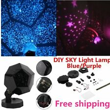 Romantic Star light LED Starry Night Sky Projector Lamp Cosmos Master Kids Gift~
