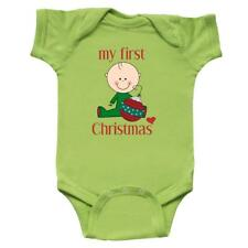 Inktastic My First Christmas With Heart Infant Creeper Ornament Babys Merry 25th