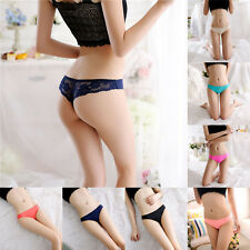 Sexy Womens Lace V-string Briefs Panties Thongs G-string Lingerie Underwear