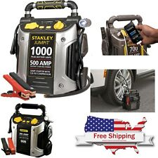 Stanley Battery Jump Starter Air Compressor Peak Power Bank Charger Booster Car