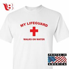 CHRISTIAN LIFEGUARD T-SHIRT - JESUS CHRIST-BRAND NEW TSHIRT TEE CROSS RELIGIOUS