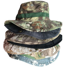 Boonie Hat Tactical Cap Hunting Camouflage Military Outdoor Swat Fishing Army